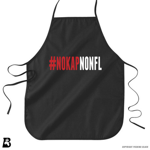 '#NOKAPNONFL' Premium Canvas Kitchen Apron