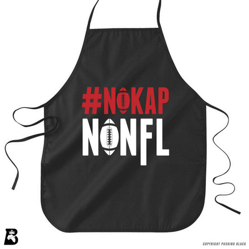 '#NOKAP - No NFL' Premium Canvas Kitchen Apron