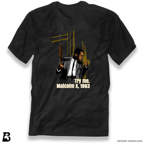 'Malcolm Shabazz - 'Try Me' - Full Variations' Premium Unisex T-Shirt