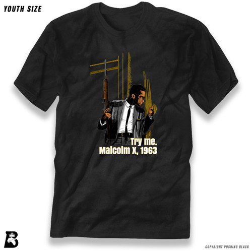 'Malcolm Shabazz - 'Try Me' - Full Variations' Premium Youth T-Shirt