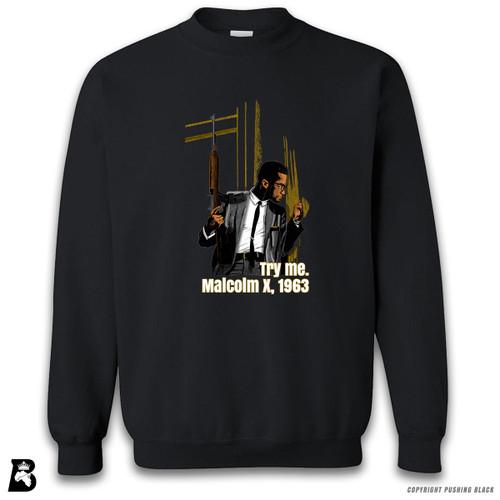 'Malcolm Shabazz - 'Try Me' - Full Variations' Premium Unisex Sweatshirt