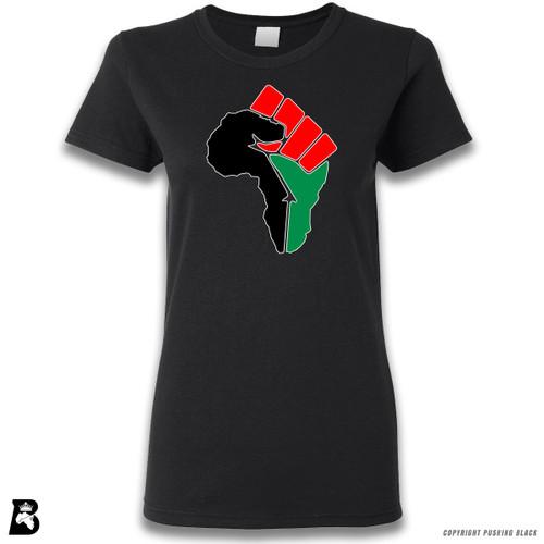 'African Power Fist - Pan African Colors' Premium Unisex T-Shirt