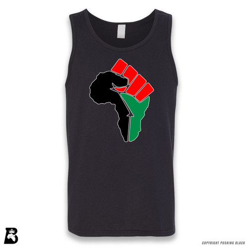 'African Power Fist - Pan African Colors' Sleeveless Unisex Tank Top
