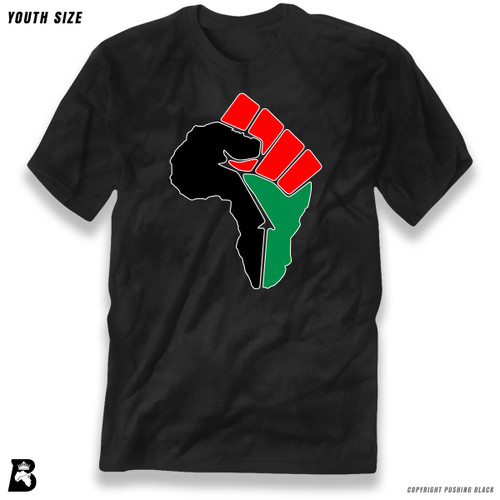 'African Power Fist - Pan African Colors' Premium Youth T-Shirt
