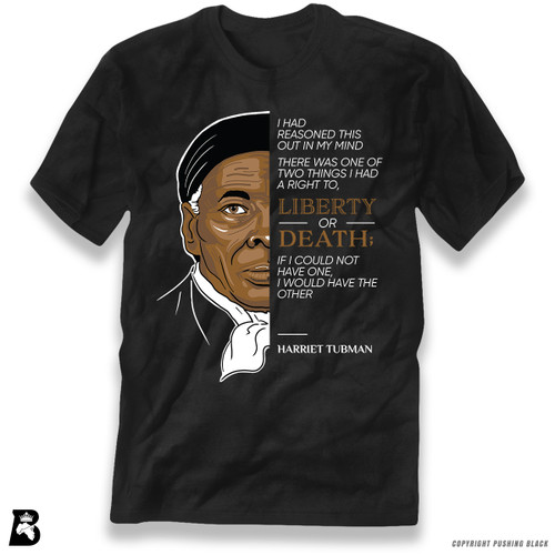 'The Legacy Collection - Harriet Tubman - Liberty or Death' Premium Unisex T-Shirt