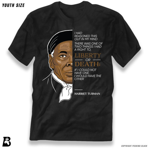 'The Legacy Collection - Harriet Tubman - Liberty or Death' Premium Youth T-Shirt