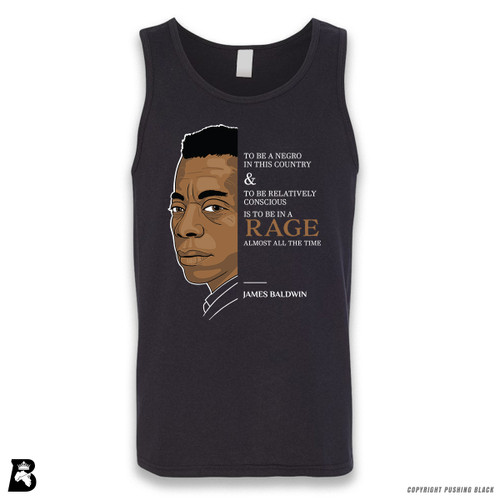 'The Legacy Collection - Baldwin - To Be In a Rage' Sleeveless Unisex Tank Top