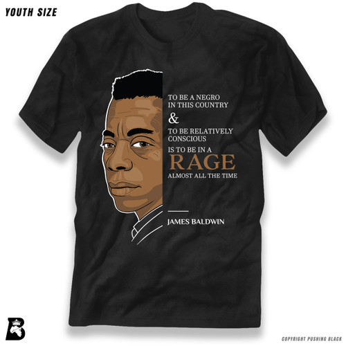 'The Legacy Collection - Baldwin - To Be In a Rage' Premium Youth T-Shirt