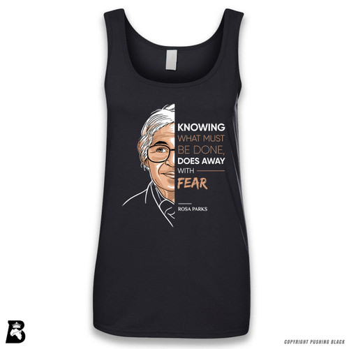 'The Legacy Collection - Parks - Knowing Does Away With Fear' Sleeveless Ladies Tank Top