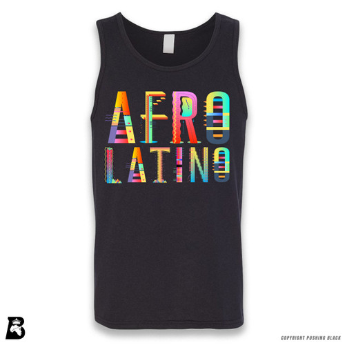 'Afro-Latino' Sleeveless Unisex Tank Top