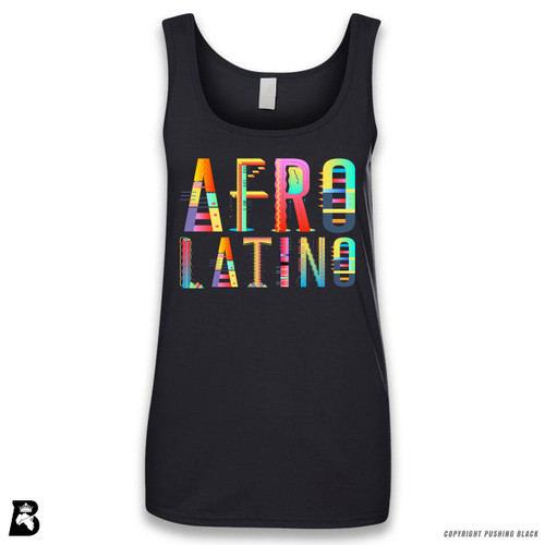 'Afro-Latino' Sleeveless Ladies Tank Top