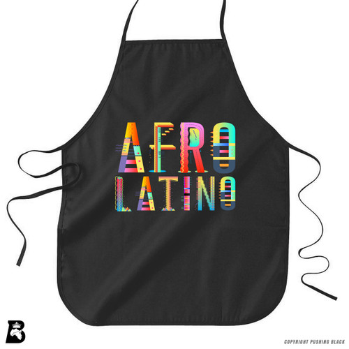 'Afro-Latino' Premium Canvas Kitchen Apron