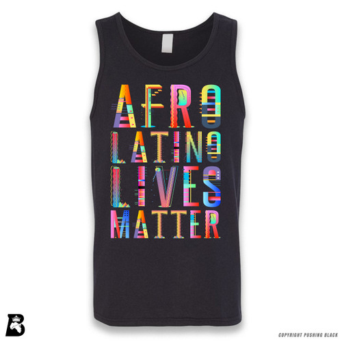 'Afro-Latino Lives Matter' Sleeveless Unisex Tank Top