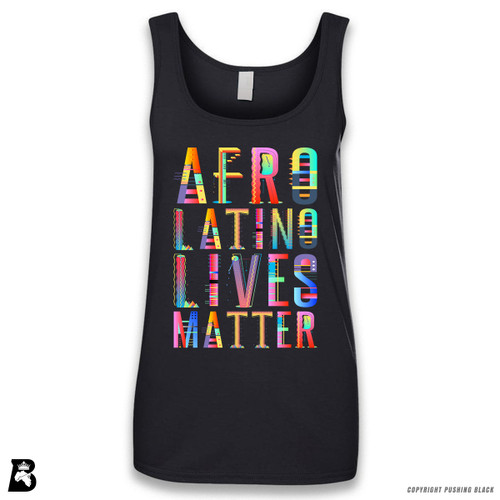 'Afro-Latino Lives Matter' Sleeveless Ladies Tank Top