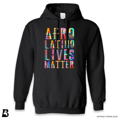 'Afro-Latino Lives Matter' Premium Unisex Hoodie with Pocket