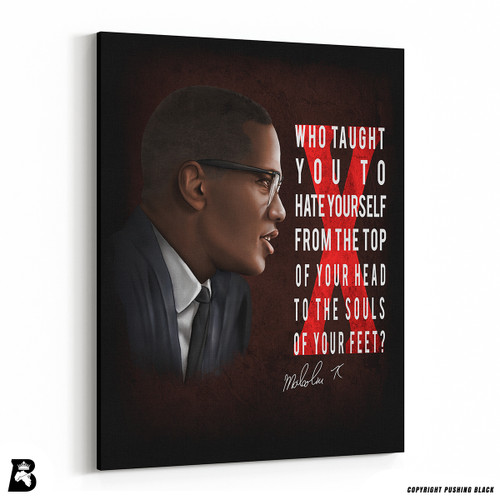 "'The Legacy Collection - ""Who Taught You""' Premium Wall Canvas"