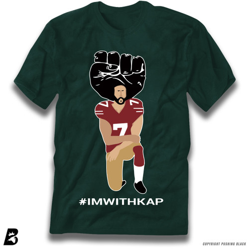 ''#IMWITHKAP Kneeling Colin Kaepernick' Premium Unisex T-Shirt