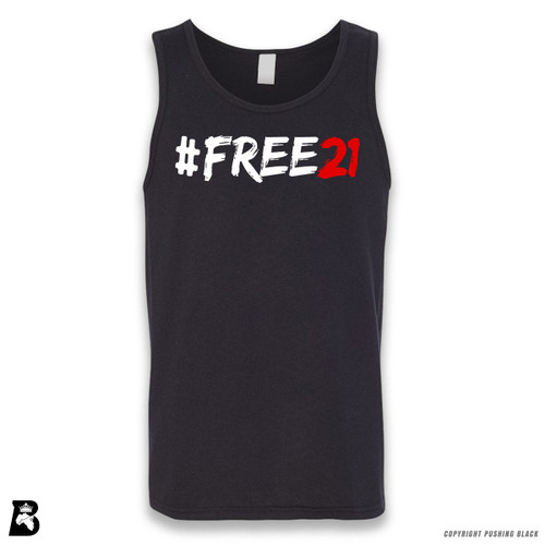 'FREE21' Sleeveless Unisex Tank Top