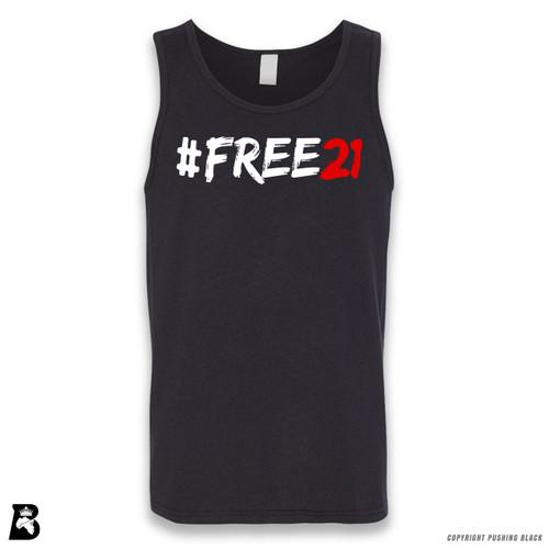 'FREE21' Sleeveless Unisex Tank Top
