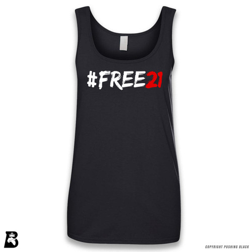 'FREE21' Sleeveless Ladies Tank Top