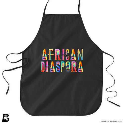 'African Diaspora' Premium Canvas Kitchen Apron