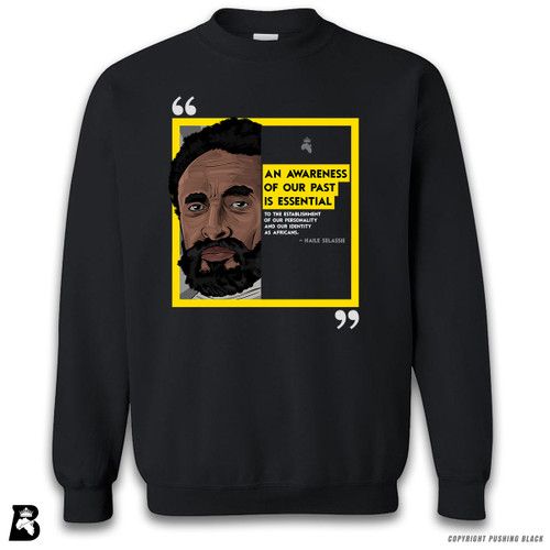 'The Legacy Collection - Haile Salassie - Awareness of Past' Premium Unisex Sweatshirt