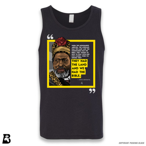 'The Legacy Collection - Kenyatta - When the Missionaries Arrived' Sleeveless Unisex Tank Top