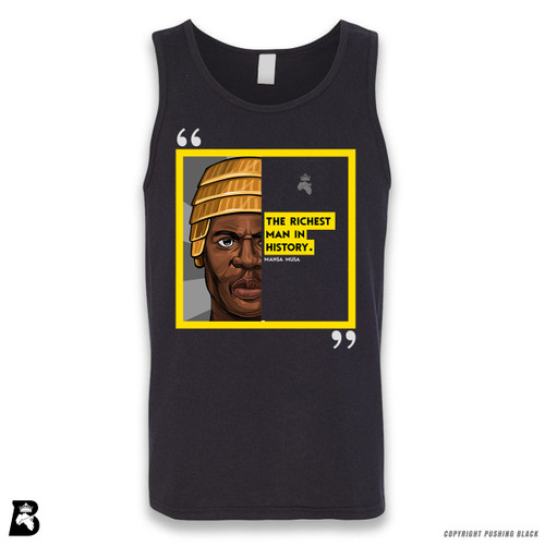 'The Legacy Collection - Mansa Musa - Richest Man in History' Sleeveless Unisex Tank Top