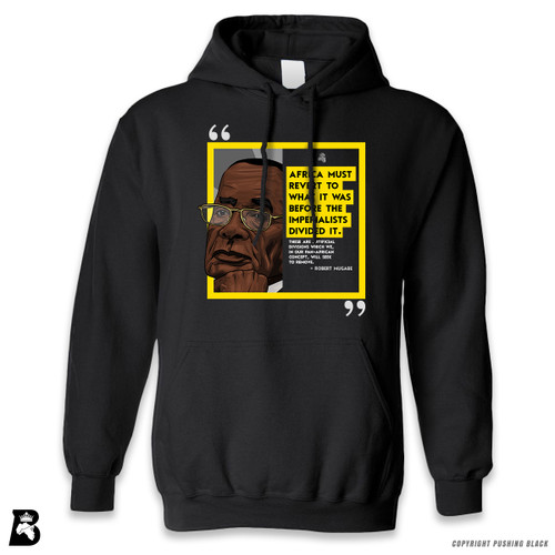 'The Legacy Collection - Mugabe - Africa Before Imperialists Divided It ' Premium Unisex Hoodie with Pocket