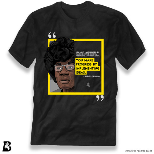 'The Legacy Collection - Chisholm - Progress By Implementing Ideas' Premium Unisex T-Shirt