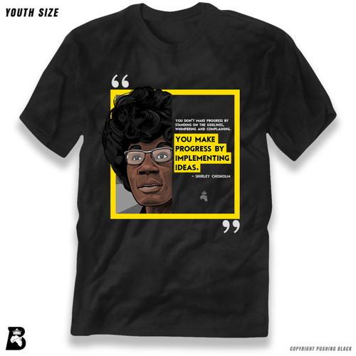 'The Legacy Collection - Chisholm - Progress By Implementing Ideas' Premium Youth T-Shirt