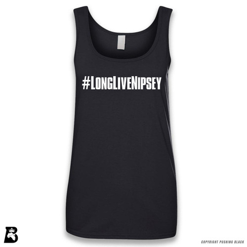 'Long Live Nipsey Hashtag 2' Sleeveless Ladies Tank Top