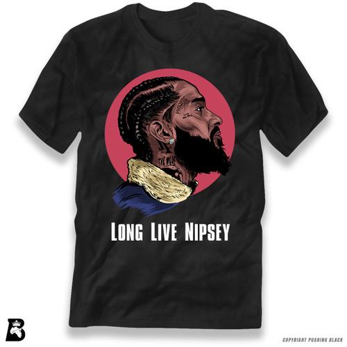 'Nipsey - Long Live Nipsey' Premium Unisex T-Shirt
