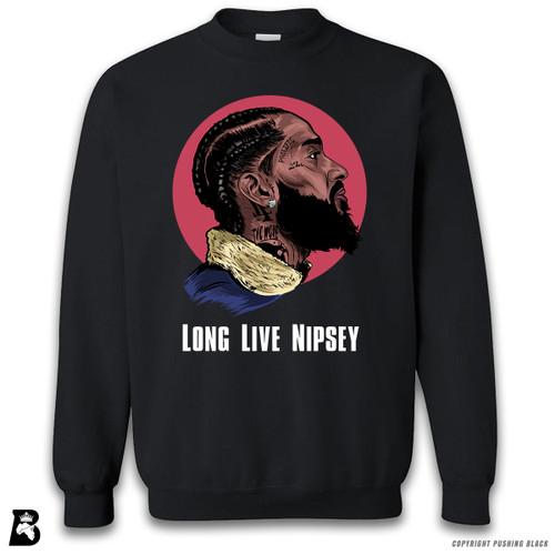 'Nipsey - Long Live Nipsey' Premium Unisex Sweatshirt