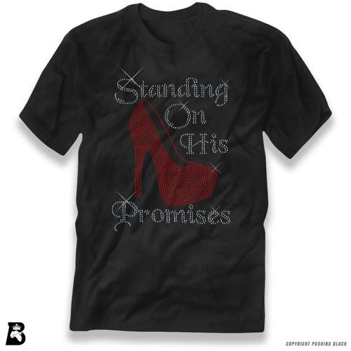'Rhinestone - Standing on His Promises' Premium Unisex T-Shirt