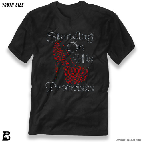 'Rhinestone - Standing on His Promises' Premium Youth T-Shirt