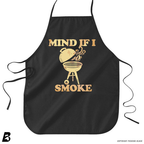 'Mind If I Smoke' Premium Canvas Kitchen Apron