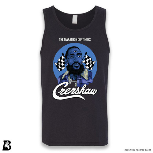 'Nipsey with Third Eye - The Marathon Continues' Sleeveless Unisex Tank Top