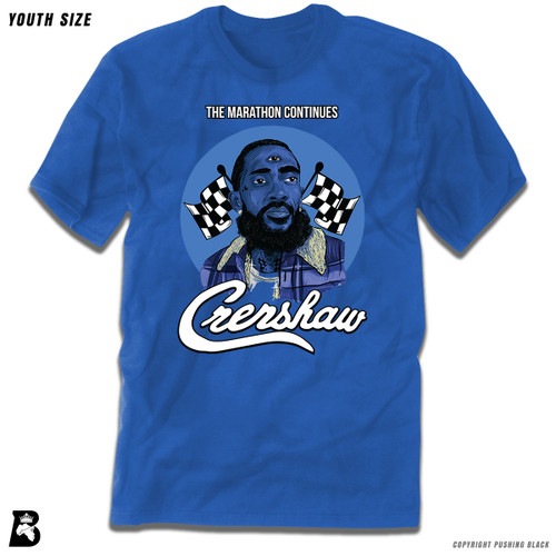 'Nipsey with Third Eye - The Marathon Continues' Premium Youth T-Shirt
