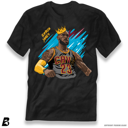 'King LeBron James' Premium Unisex T-Shirt