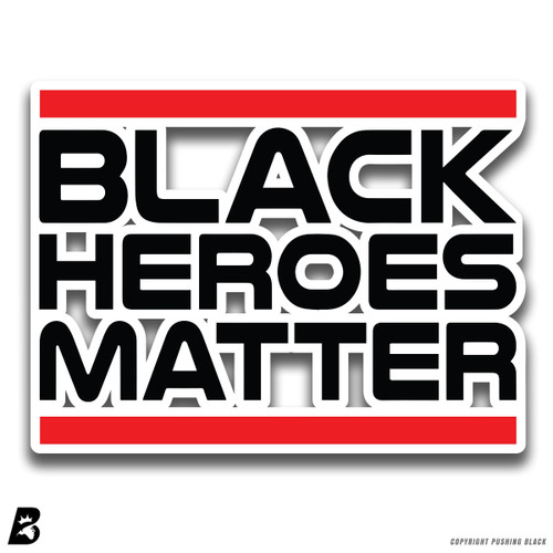 'Black Heroes' Premium Multi-Purpose Decal