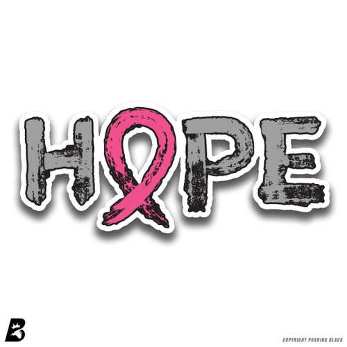 'Breast Cancer Awareness Hope' Premium Multi-Purpose Decal