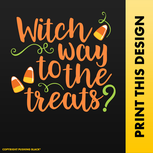 Witch Way To The Treats