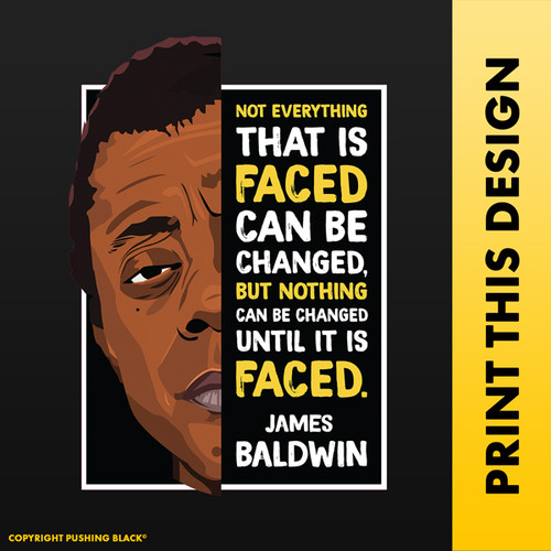 The Legacy Collection - James Baldwin 'Not Everything'