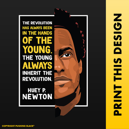 The Legacy Collection - Huey P. Newton 'The Revolution'