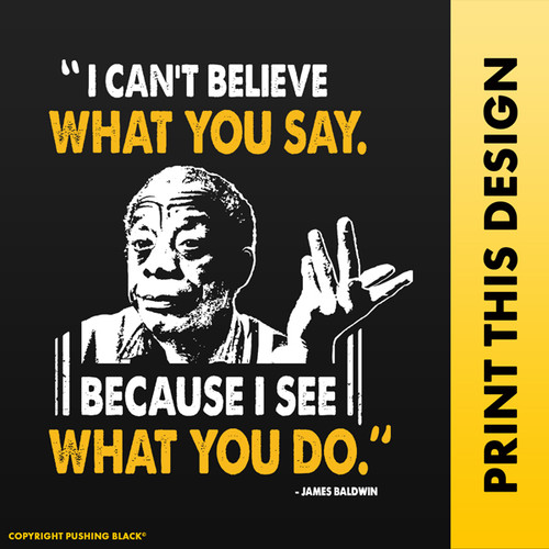 """James Baldwin - """"I Can't Believe What You Say"""""""