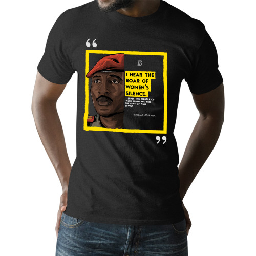 'The Legacy Collection: Remembering Thomas Sankara' Unisex T-Shirt (Gildan G500)