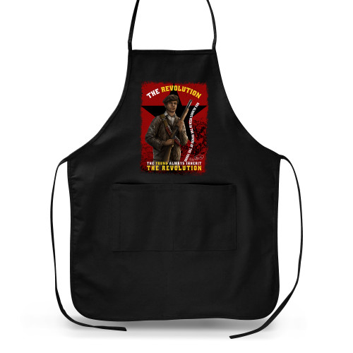'Huey P. Newton - The Young Inherit The Revolution' Apron (Big Accessories APR52)