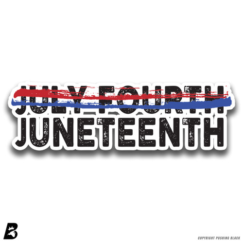 'Juneteenth' Premium Multi-Purpose Decal