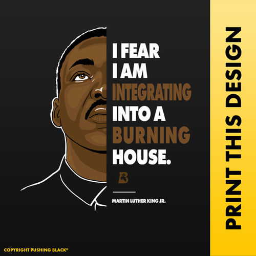 The Legacy Collection - Martin Luther King Jr. Burning House